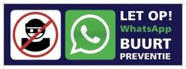 Gemeente zegt steun WhatsApp buurtgroepen toe