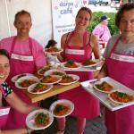 GB met pasta én dorpspraat op Piazza del Giro