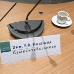 Frank Huizinga verlaat de gemeentepolitiek